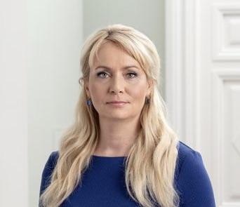 Riina Solman. Foto:Vabariigi Valitsus